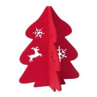 Weihnachtsdekoration REFLECTS-JINAN RED als Werbemittel in Rot