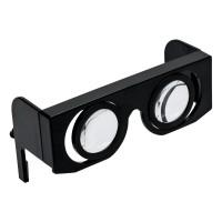 VR-Brille REFLECTS-BILOXI als Werbemittel in Schwarz
