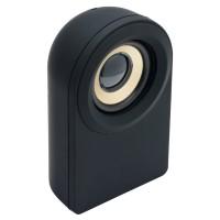 Lautsprecher mit Bluetooth® Technologie REFLECTS-CAPSULE als Werbemittel in Schwarz