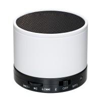 Lautsprecher mit Bluetooth® Technologie REFLECTS-FERNLEY WHITE als Werbemittel in Weiß