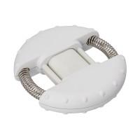 Handtrainer REFLECTS-IVALO WHITE als Werbemittel in Weiß