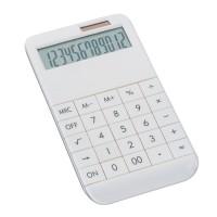 Taschenrechner REFLECTS-SPECTACULATOR DIGITS als Werbemittel in Weiß