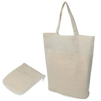 Faltbare Einkaufstasche aus Baumwolle