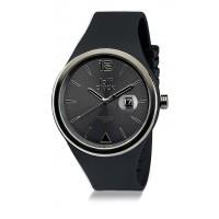Armbanduhr LOLLICLOCK BLACK DATE als Werbemittel