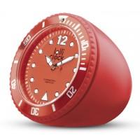 Uhr LOLLICLOCK ROCK YELLOW als Werbemittel in gelb
