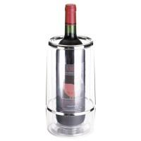 Weinkühler als Werbemittel in glasklar