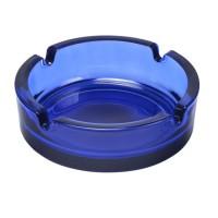 Glasaschenbecher | Blau-Transparent