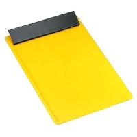 Schreibplatte DIN A4 | Gelb / Schwarz