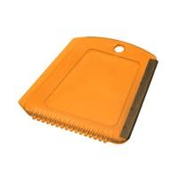 Eiskratzer | Orange-Transparent