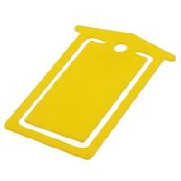 Briefklammer  | Gelb