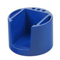 Zettelbox, rund | Blau