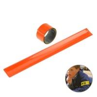 Sicherheits-Klackarmband | Orange-Transparent