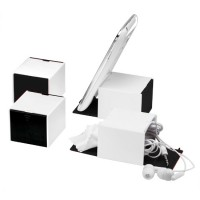 Smartphone-Würfel 3-in-1 | Weiß