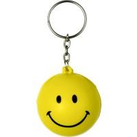 Schlüsselanhänger 'Smiley' aus PU Schaum