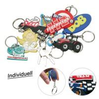 Individueller Schlüsselanhänger aus Soft-PVC | Individuell