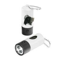 """""""Gassi""""-Taschenlampe, 1 LED (weiß)"""