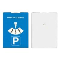 Karton-Parkscheibe, entspricht § 42 StVO. | Blau
