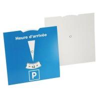 Karton-Parkscheibe Frankreich | Blau