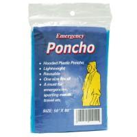 Regen-Poncho für Erwachsene | Blau