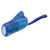 Dynamo-Taschenlampe, 3 LED (weiß)