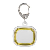 Schlüssellicht aufladbar REFLECTS-COLLECTION 500 als Werbemittel in Weiß/Gelb