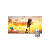 ActiveTowel® Sports Microfaser-Sporthandtuch 80x40 cm | Runddose & Einlegekarte Individuell