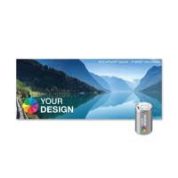 ActiveTowel® Sports Microfaser-Sporthandtuch 100x40 cm | Runddose & Einlegekarte Individuell