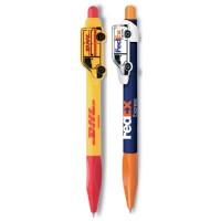 Kugelschreiber mit Individuellem Clip Logoclip-Kugelschreiber Alfa günstig bedrucken lassen