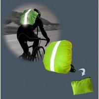 Rucksack-Schutzhülle mit Etui - reflektierend