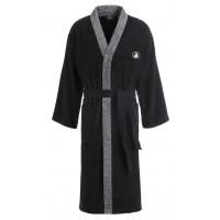 Unisex-Kimono BlackAndWhite