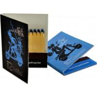 Streichholzbriefchen Buch