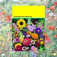 Samentütchen 82x114 mm, bunte Blumenmischung