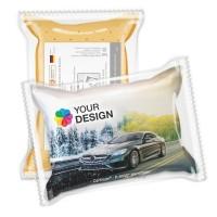 CarKoser® 2in1 Premium Scheibenschwamm Kissenform perforiert | einzeln Folienverpackung