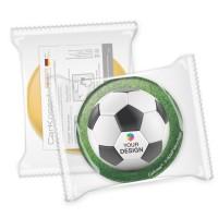 CarKoser® 2in1 Classic Scheibenschwamm Kreisform glatt | einzeln Folienverpackung
