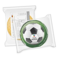 CarKoser® 2in1 Classic Scheibenschwamm Kreisform perforiert | einzeln Folienverpackung
