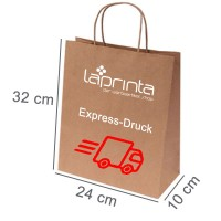 Express-Papiertasche | 24 x 10 x 32 cm