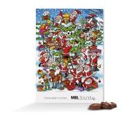 "Classic Wand Adventskalender, Standardmotiv ""Weihnachtswirbel"""