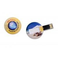 Express-USB-Karte Kreis als Werbeartikel
