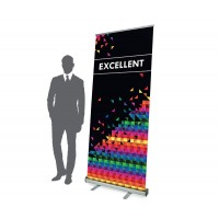 Express-Roll-up-Banner Excellent 1 x 2 m