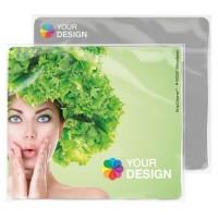 GripCleaner® 4in1 Mousepad Rechteck 23x20 cm | Einlegekarte Individuell