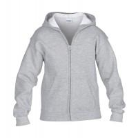 Kinder Sweatshirt Jacke  | Sport Grau