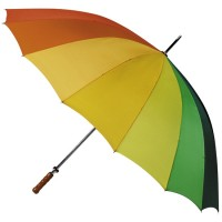Regenbogen-Golfschirm