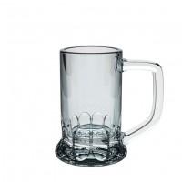 Spirituosen-Glas Hans, satiniert als Werbemittel