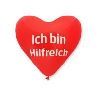 Herz-Ballon mit Druck