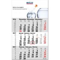 """3-Monats-Kalender """"Hit, grau"""""""