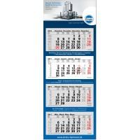 "4-Monats-Kalender ""Junior-4, blau"""