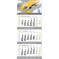 """3-Monats-Kalender """"Green3plus"""""""