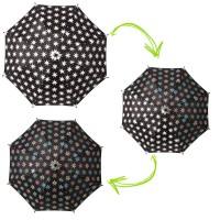 Kinder-Regenschirm mit Farbwechsel-Effekt