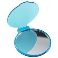 Kosmetikspiegel 'Pocket' aus Kunststoff | blau