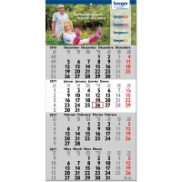 "4-Monats-Kalender ""Tetra, int."""